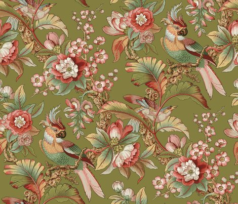 Redwardian-parrot-dogwood-dream-on-thomas-peacoquette-designs-copyright-2018_shop_preview