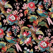 Redwardian-parrot-bright-on-black-peacoquette-designs-copyright-2018_shop_thumb