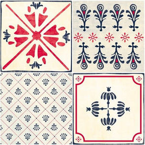 Spanish Tiles by Mount Vic and Me