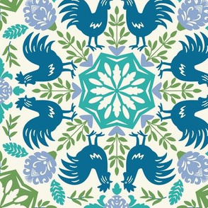 Folk Roosters