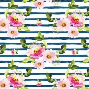 "4""  Pink Florals / Pink Hair Mermaid / Mix & Match"