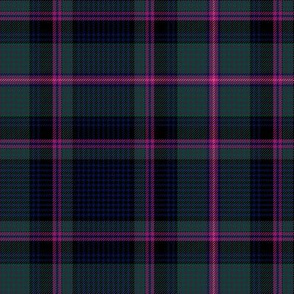 "Cooper / Couper tartan #2 checked, 6"" muted"