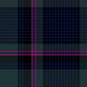 "Cooper / Couper tartan #2 checked, 12"" muted"