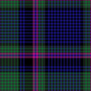 "Cooper / Couper tartan #2 checked, 12"" modern"