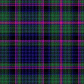 "Cooper / Couper tartan #2 checked, 6"" modern"