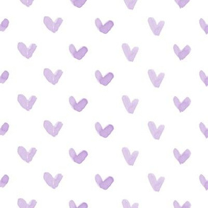 Love Hearts // Purple