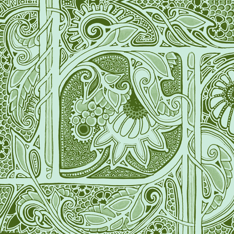 A Place of Victorian Lace fabric by edsel2084 on Spoonflower - custom fabric