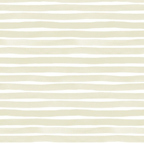 Watercolor Stripes M+M Quinoa by Friztin