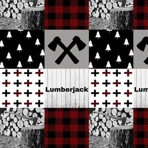 Lumberjack - cross and axe