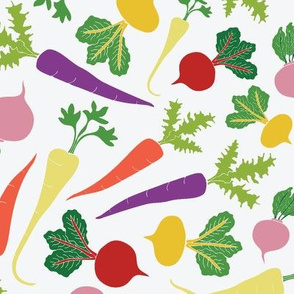 Root Veggie Medley - light background