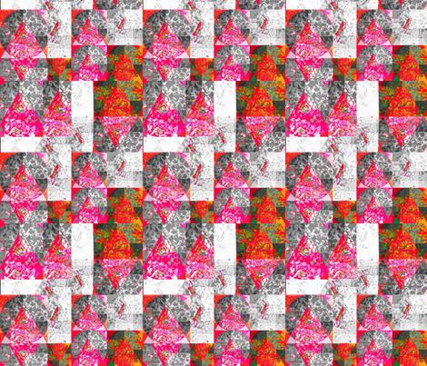 Urban Mountain fabric by twigsandblossoms on Spoonflower - custom fabric