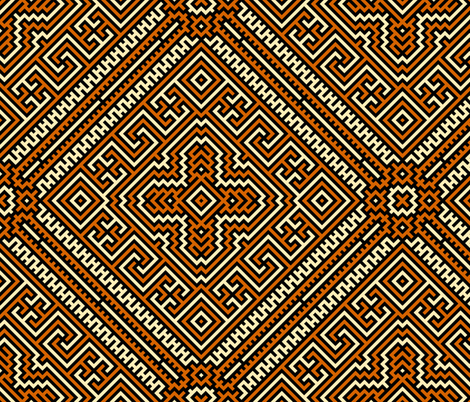 Impenetrable Labyrinth fabric by enid_a on Spoonflower - custom fabric