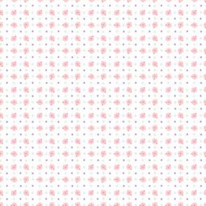 Pastel Pink Calico