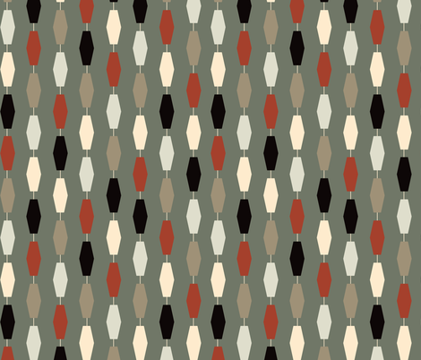 Colima - Gray fabric by theaov on Spoonflower - custom fabric