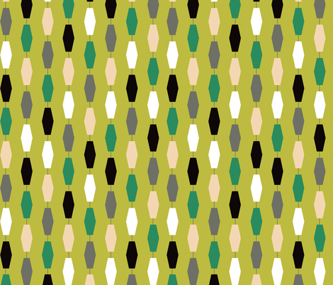 Colima - Green fabric by theaov on Spoonflower - custom fabric