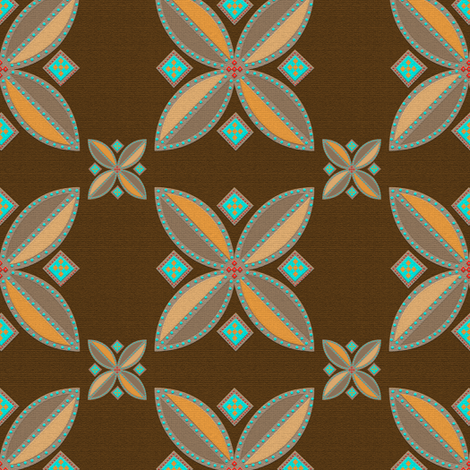 El Camino Tile 1 fabric by anniedeb on Spoonflower - custom fabric
