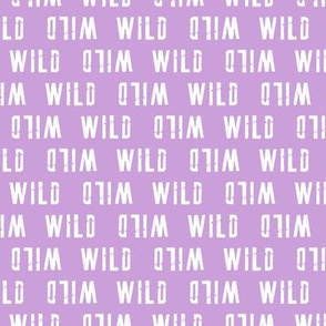 WILD (small scale) // purple - V2