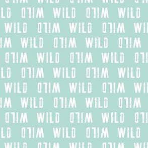 WILD (small scale) // mint - V2