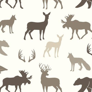 woodland animals || timberland collection