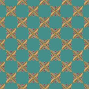 Tiny Tiles on #448f8a