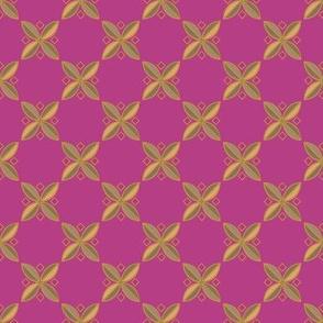Tiny Tiles on #b63e85