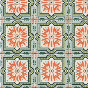 Spanish Tile 2 with Grout