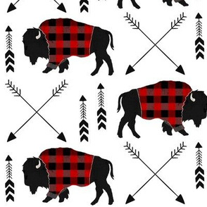 buffalo plaid arrow