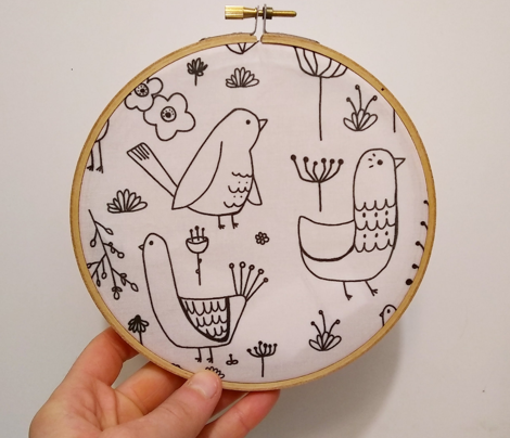 Modern Birds and Plants
