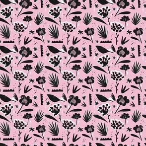 Modern Pink Floral-01