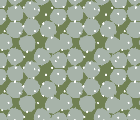 Dancing Circles and Dots fabric by statement_goods on Spoonflower - custom fabric