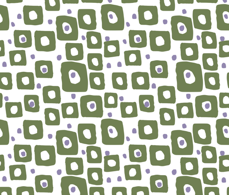 Moving Dots and Squares fabric by statement_goods on Spoonflower - custom fabric