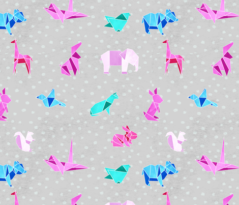 Origami fabric by brittemily on Spoonflower - custom fabric