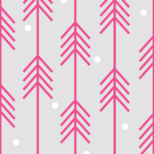 Dots & Arrows_Pink_White