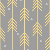 Dots & Arrows_Yellow_Gray