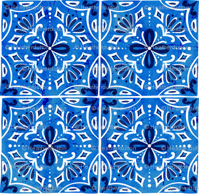 Sevilla - Spanish Tiles Blue