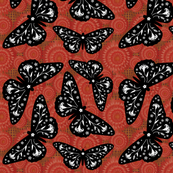 Butterfloral Red
