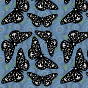 Butterfloral Blue