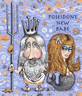 poseidon's new mermaid babe, small scale