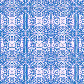 Celtic Cross in Blue and Blush