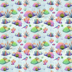My Kaleidoscopic Rock Garden