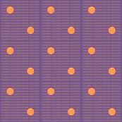 DOT-SM-WAPH Warm Apricot / Purple Heart