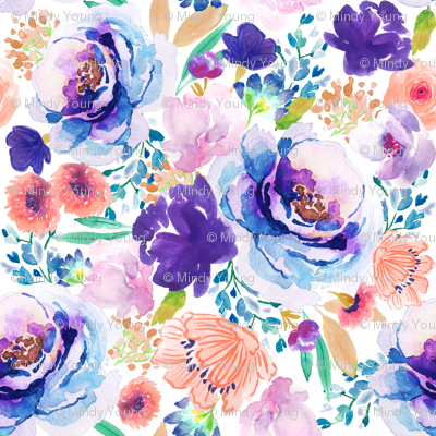 Indy Bloom Ultra Violet Blossom A