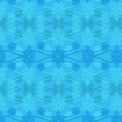 Greek Squiggles in Medium Turquoise