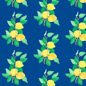 lemon bouquet navy-ed