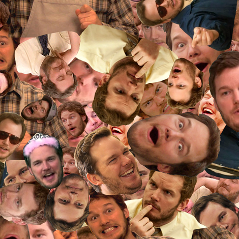 Andy Dwyer fabric by smelinkoff on Spoonflower - custom fabric