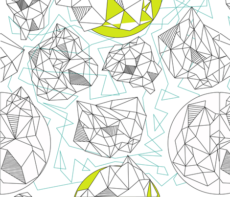 GEOrigami fabric by eliza_casey on Spoonflower - custom fabric
