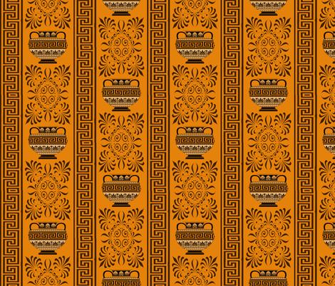 Greek ornament fabric by tatjana_melikhova on Spoonflower - custom fabric