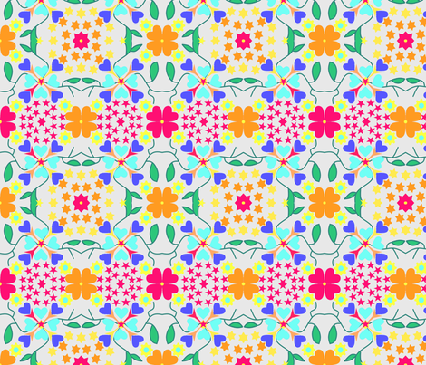 Tile 8 fabric by ruthjohanna on Spoonflower - custom fabric