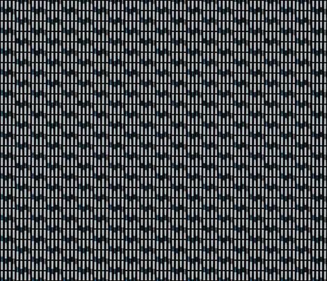 Reed Lineup Blues fabric by beckarahn on Spoonflower - custom fabric
