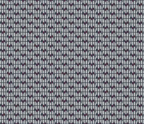 Reed Lineup Tango fabric by beckarahn on Spoonflower - custom fabric